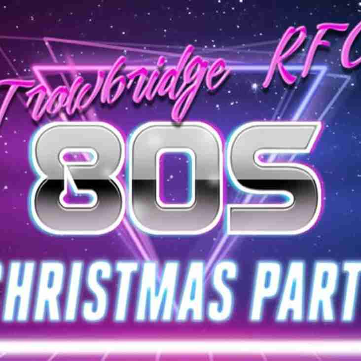 Trowbridge RFC Christmas Party - tickets available now!