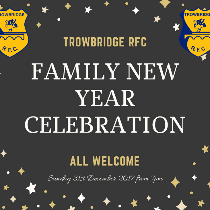 Ring in 2018 at Trowbridge RFC