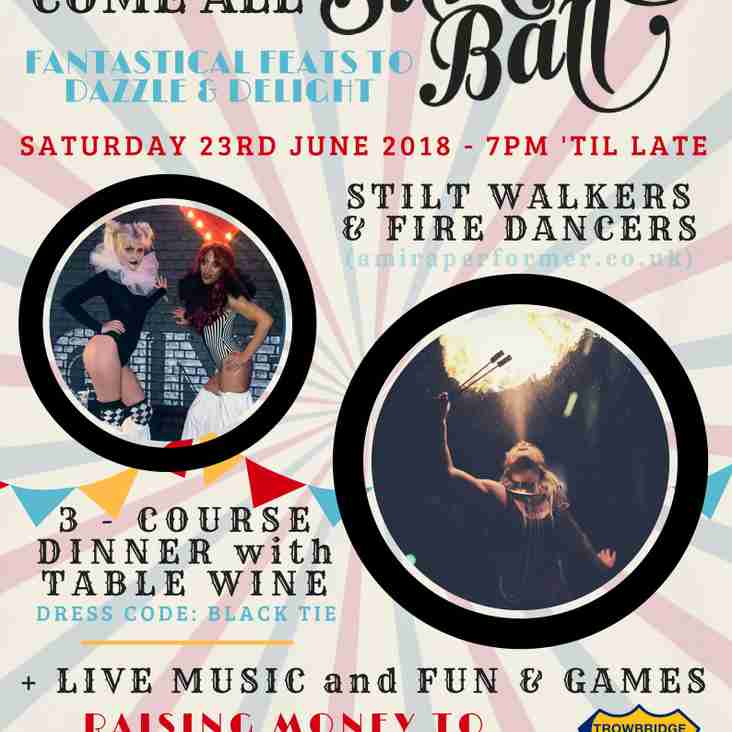 Roll Up, Roll Up - Tickets for the TRFC Summer Ball are on sale NOW!