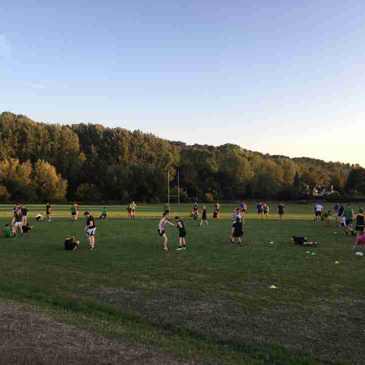 Record Numbers of Players Pre-Season Training