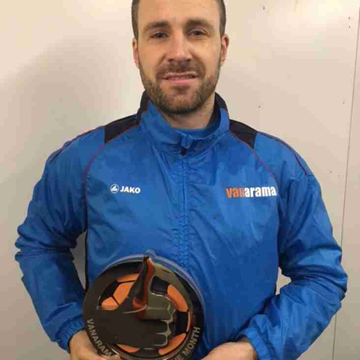 Crusader wins National League Player of the Month Award