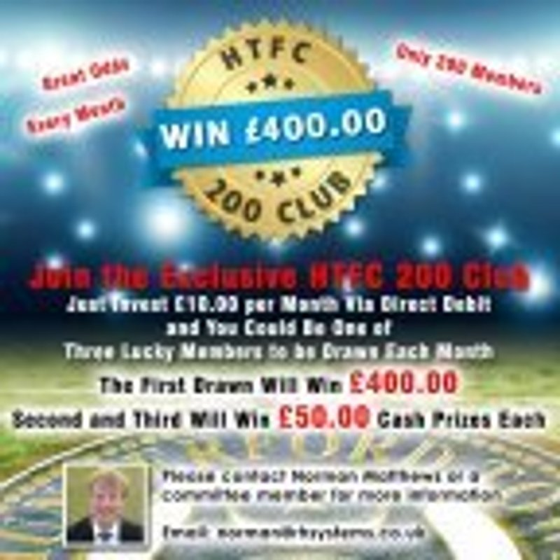 Hungerford Town FC 200 Club winners announced for July 2018