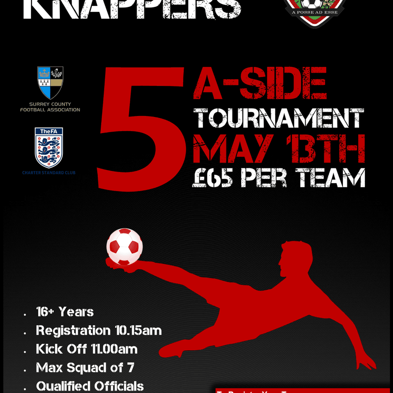 Knaphill FC 5 A Side Tournament