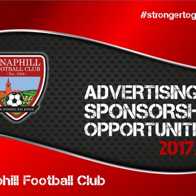 Advertising & Sponsorship Opportunities 2017-2018