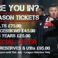 Season Tickets 2017-18