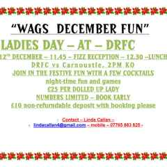 WAGS themed Ladies Day at DRFC