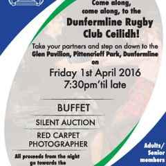 Dunfermline Rugby Club Ceilidh