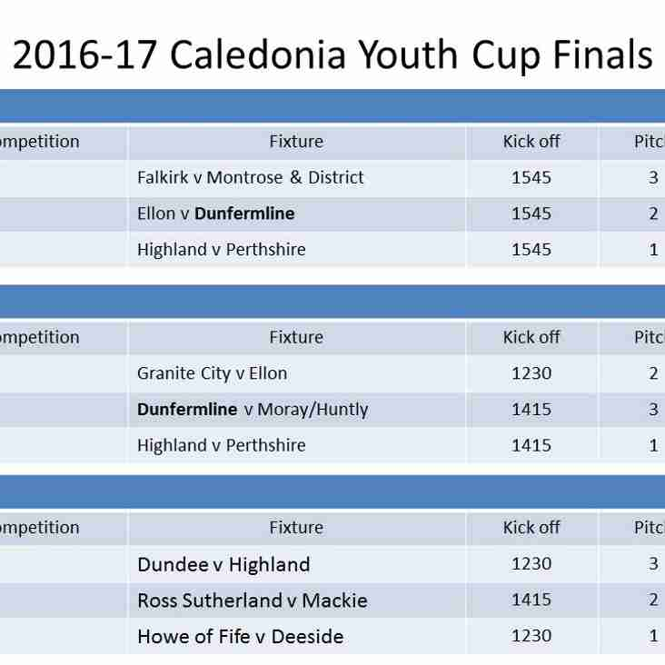 Dunfy Youth sides in Caledonia Youth Cup Finals