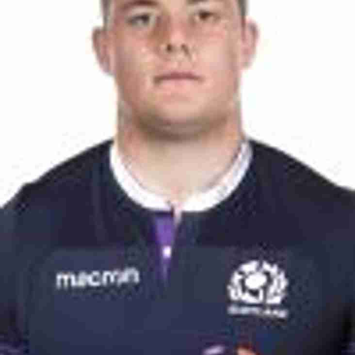 Dunfy lad selected for Scotland 2018 Six Nations opener