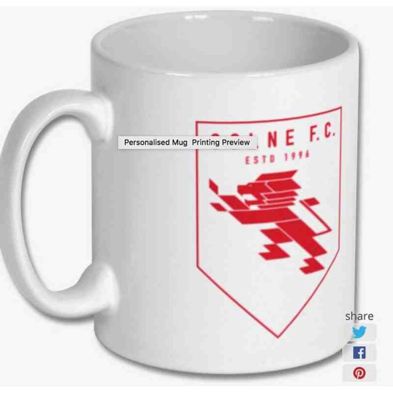 Colne F.C. Offical Mug