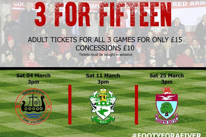 Footy for a fiver!