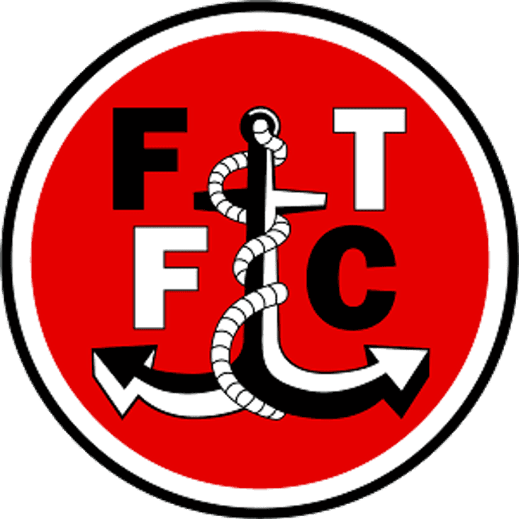 Fleetwood first for the reds.