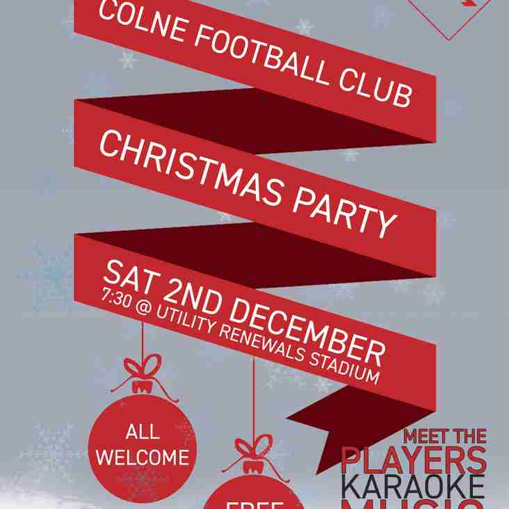 Colne FC Christmas Party!