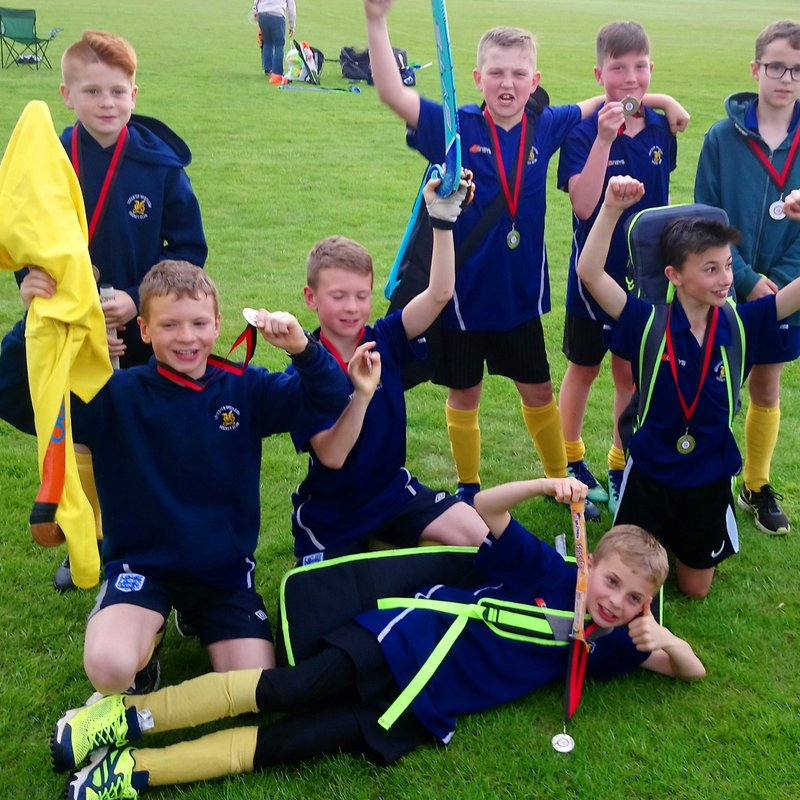 Westleigh U12's play at the Ashby Tournament