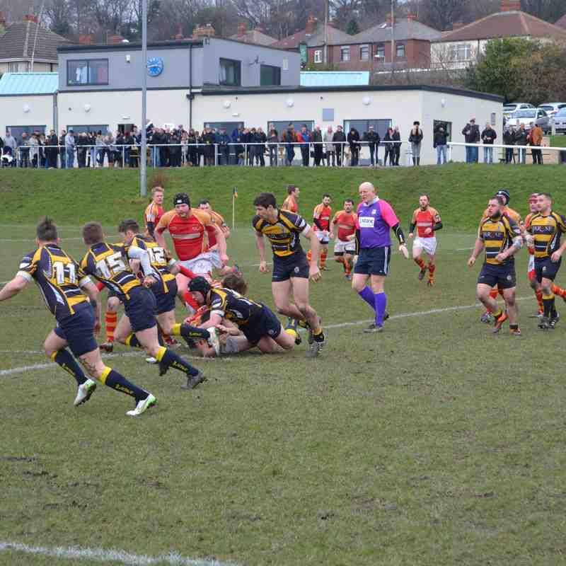 Rockcliff 1st XV vs West Leeds RFC (Cup Game) Part 1