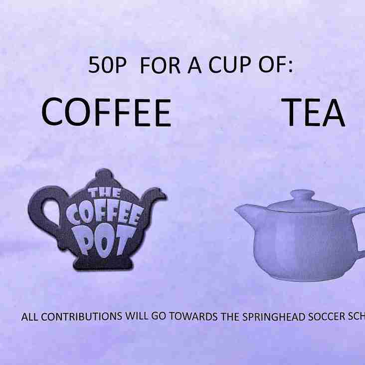 Soccer School ------ Hot Drinks Available