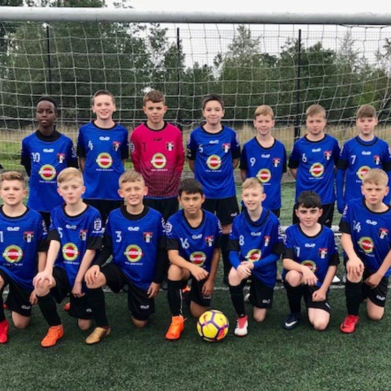 Under 13s Storm lose to West End Boys Club U13's 0 - 1