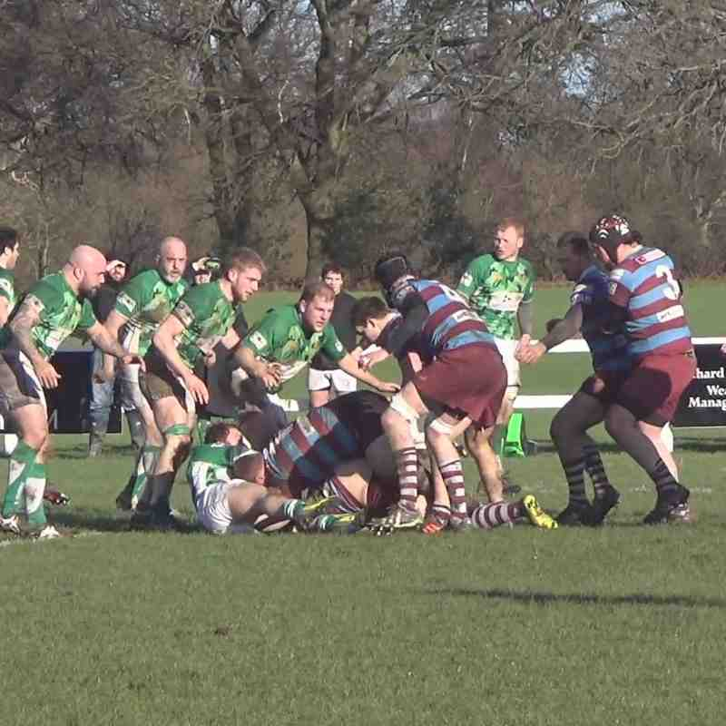 Hove XV vs Horsham XV - 30/01/2016