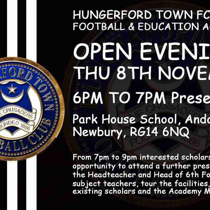 ACADEMY OPEN EVENING