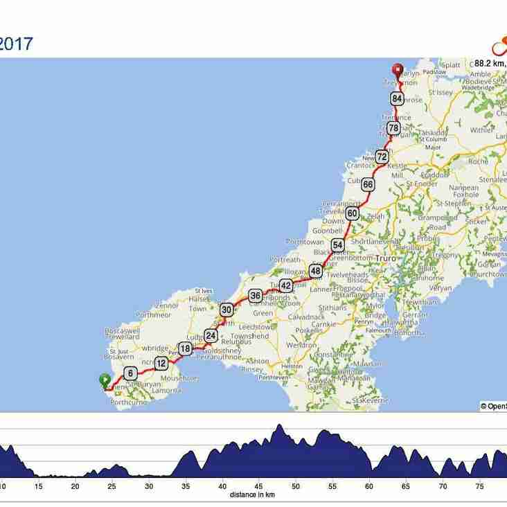 LEJOG4THEBOG challenge pedals off tomorrow