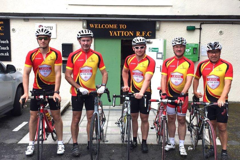Skirting Wales in Lycra