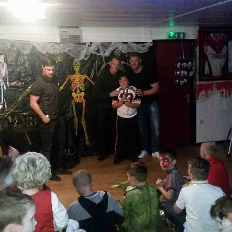 U8's Presentation Night Fun 2015
