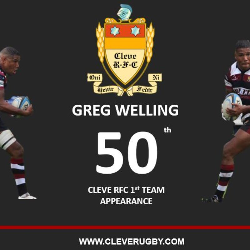 Congratulations on your 50th 1st XV Appearance