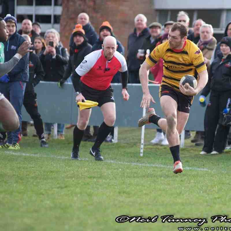 Bees v London Irish Wild Geese