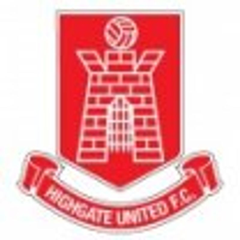 Highgate United fixture postponed