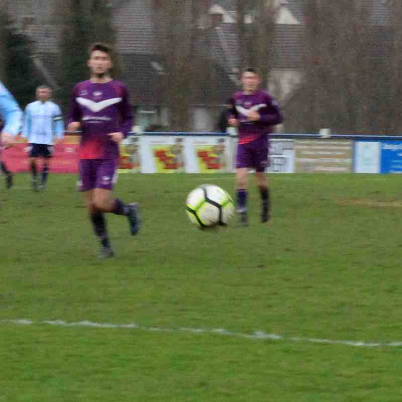 Coventry Sphinx 2-1 Loughborough University 13.01.2018. Courtesy of Marcus Robinson.