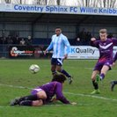 Match report Coventry Sphinx 2-1 Loughborough Uni 13.01.2018