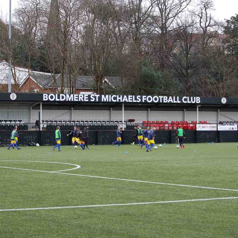 Boldmere 2-2 Coventry Sphinx 10.02.18. Courtesy of Stuart Guest.
