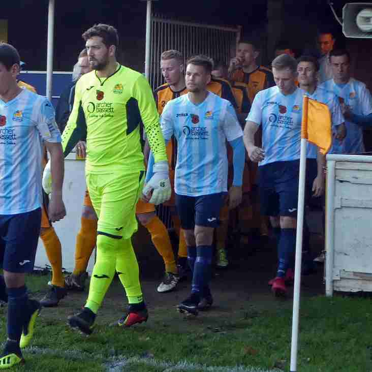 Match Report: Point taken in Stourport to extend run