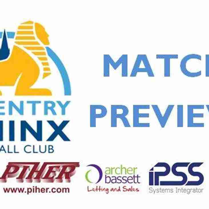PREVIEW - LONG EATON UNITED v COVENTRY SPHINX