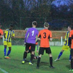 Wolverhampton Sporting 1-5 Coventry Sphinx 24.11.2018. Courtesy of Marcus Robinson