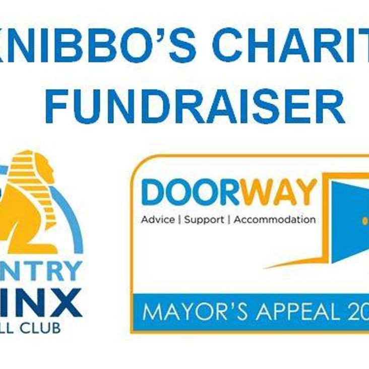 "Knibbo's Charity Fundraiser - ""Doorway""<"
