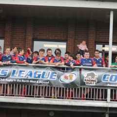 Blackburn Senior Colts League Plate Final vs Glossop (Eccles RUFC)