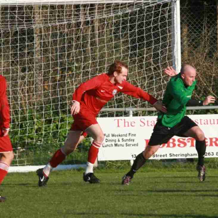Senior Cup Action for Blofield