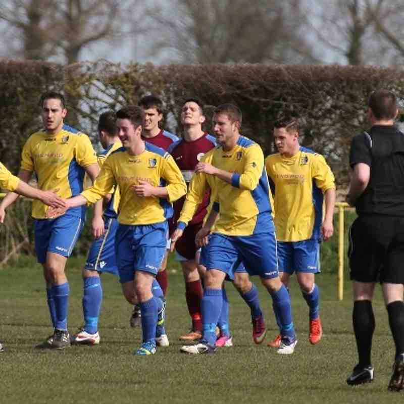 Norwich United 3 Thetford Town 0
