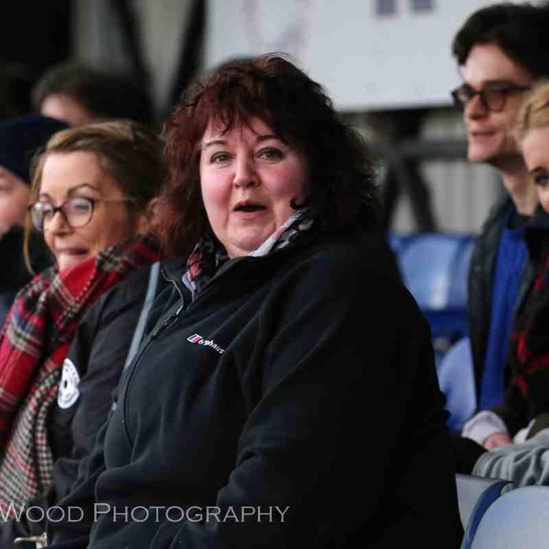 Sarah, North Walsham Angels most vocal supporter!