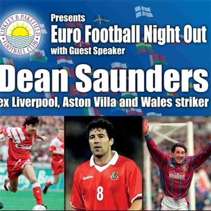EURO's Sportsmans Evening With Dean Saunders
