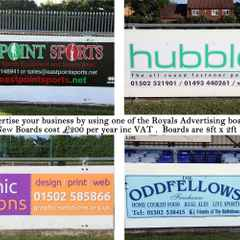 Advertising Boards at KPFC