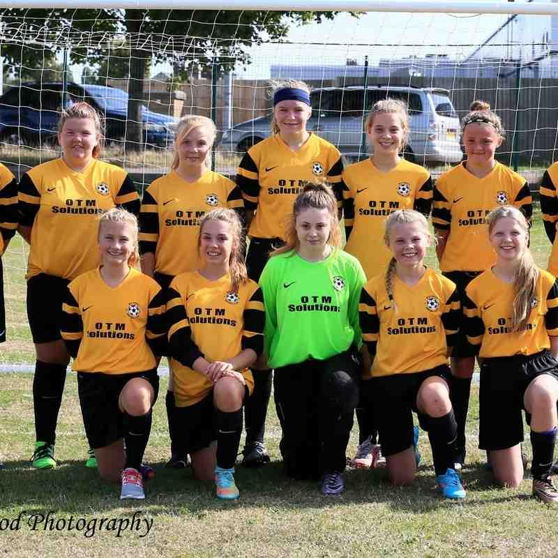 Waveney u14 Lionesses 1   North Walsham Angels u14's 0