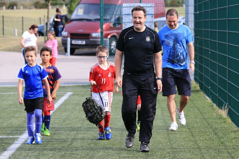 Saturday Football Club in photos