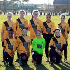 Waveney u12 Lionesses v Thorpe United u12's
