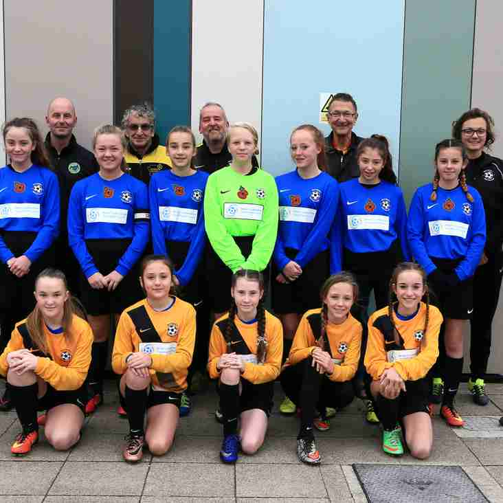 Waveney u13 Foxes first beneficiaries of the Brian Gallagher Football fund
