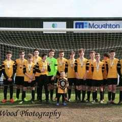 Waveney U16 Panthers 1 KPFC U16 Royals 0. Shield Final
