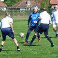 KPFC Walking football paying respects to Russell Brown