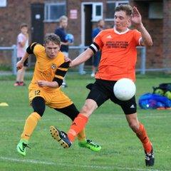 Wenhaston United v Waveney preseason friendly