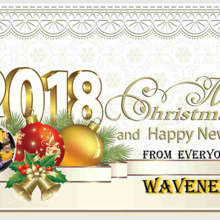 Merry Christmas and a Happy New Year from everyone at Waveney FC
